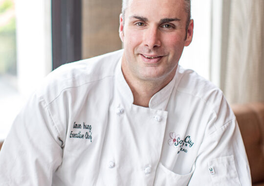 Chef Simon Young