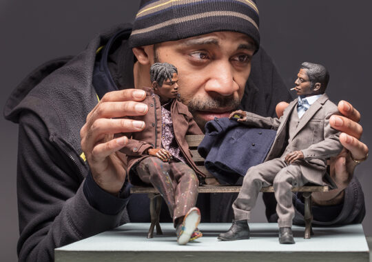 Acori Honzo's Afro-Pop Figurines Pique the Imagination