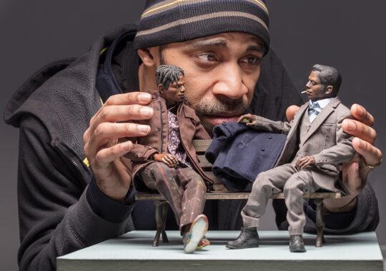 Acori Honzo's Afro-Pop Figurines Pique the Imagination